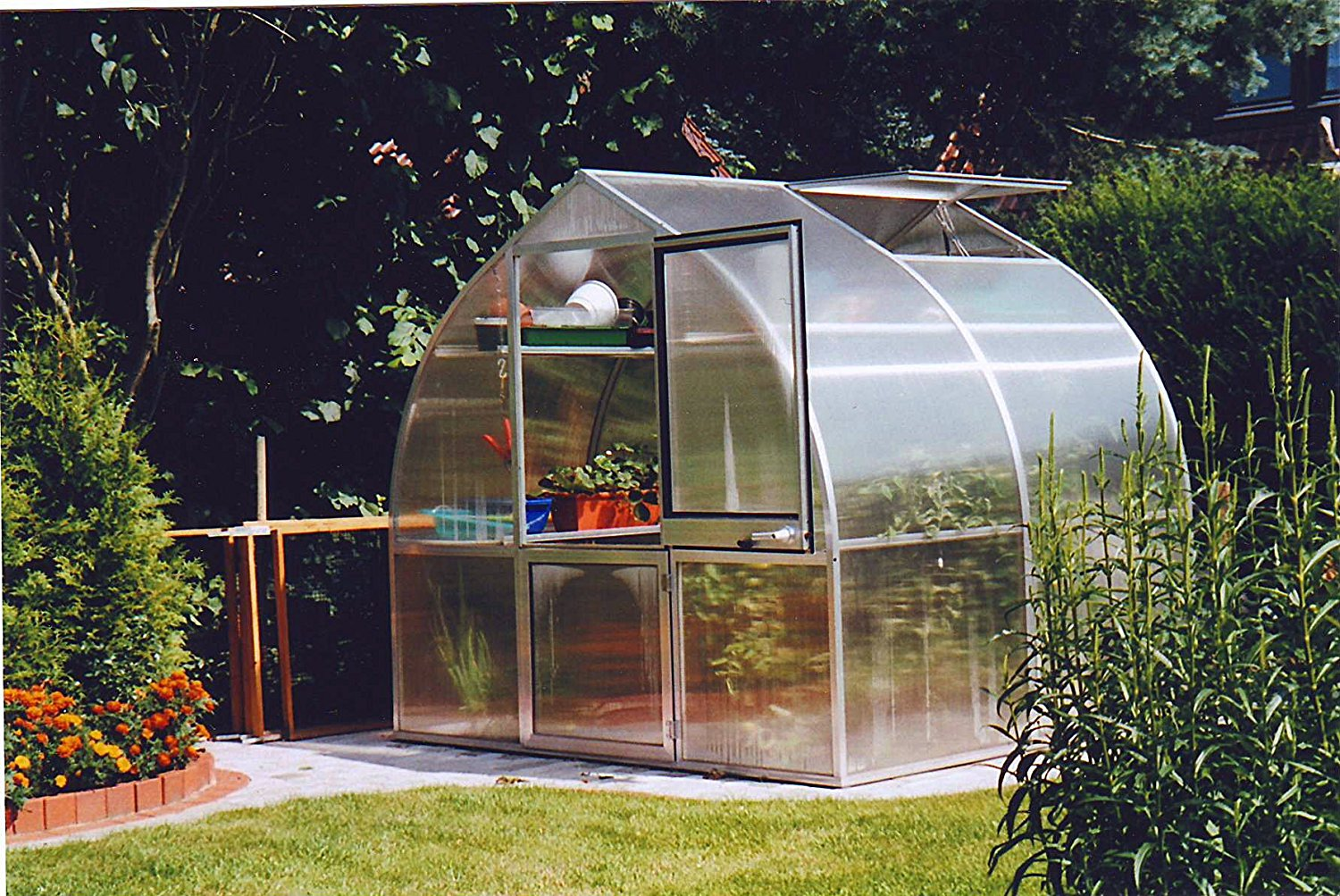 king canopy gh1010 10x10 feet fully enclosed greenhouse clear & Best greenhouse for your budget u2013 Greenhouse Hunt