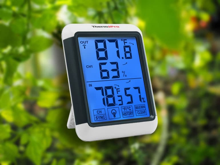greenhouse thermometer hygrometer