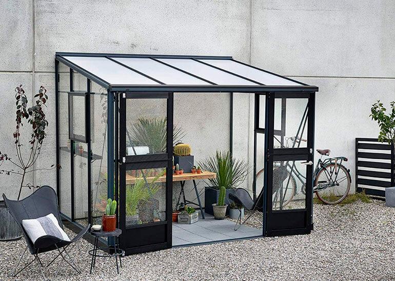 budget glass greenhouse kits decorated