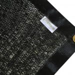 e-share 40 percent shade cloth black with grommets 12x18