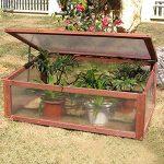 giantex garden portable wooden greenhouse