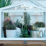 IKEA white portable greenhouse for indoor and outdoor