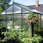 janssens royal victorian vi23 greenhouse 10mm polycarbonate