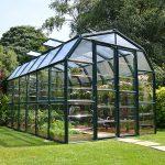 rion medium gardener 2 clear greenhouse 8x12
