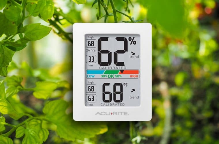 digital greenhouse thermometer hygrometer monitor