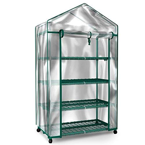 home complete mini greenhouse 4 tier indoor outdoor sturdy portable
